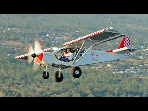 Flying the STOL CH 750 Super Duty to northern Florida