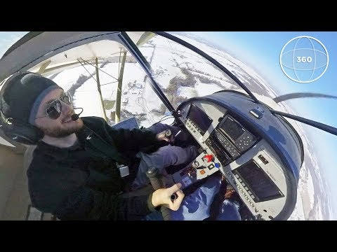 Flying the Zenith STOL in 360-degrees!