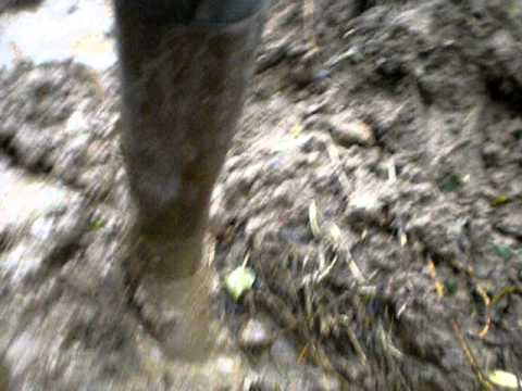 Rubberboots in the mud 2
