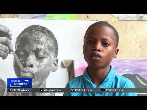 Waris Kareem Nigeria's 11-year-old artis