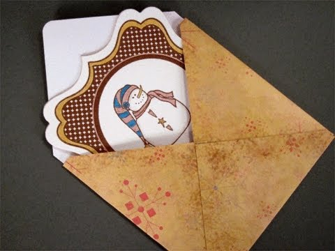 "4"" X 4"" Card and Envelope"