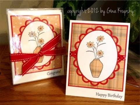 Paper Pieced Card Set