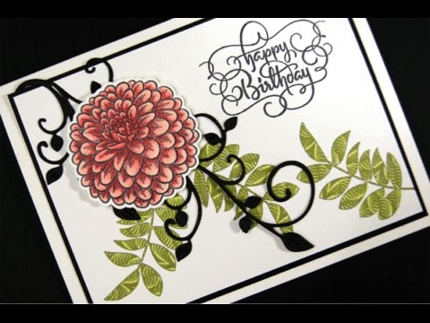 Flourished Birthday Card Project