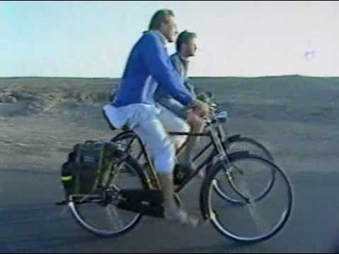 Bicycling in India, 1988