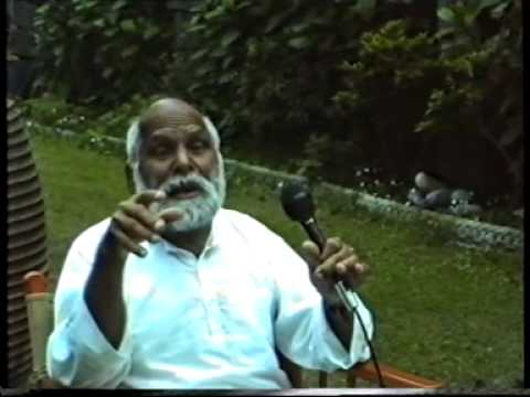 S.V. Govindan talks on Vinoba Bhave part 1 of 2
