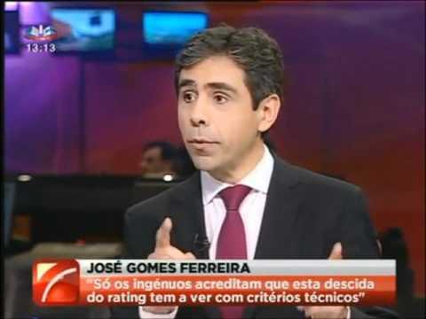 José Gomes Ferreira fala das agências de rating (sem espinhas)