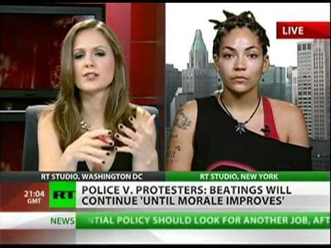 Occupy Wall Street protester speaks out