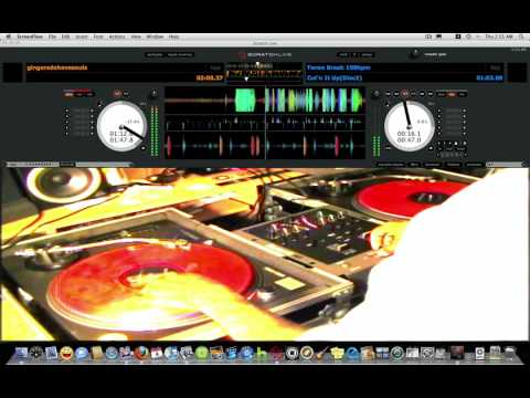 GINGERS DO HAVE SOULS HIPHOP SCRATCH USING RANE SERATO SCRATCH LIVE