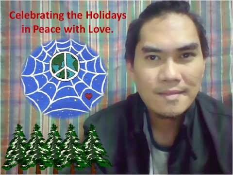 Celebrating the Holiday in Peace with Love