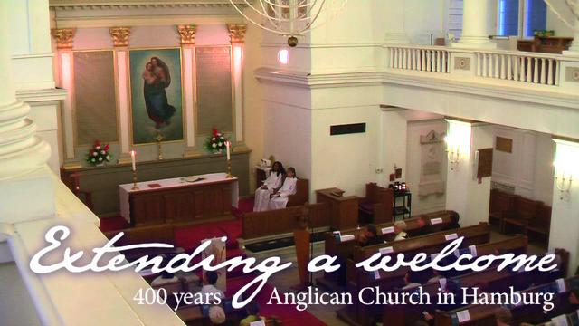 400 years Anglican Church in Hamburg