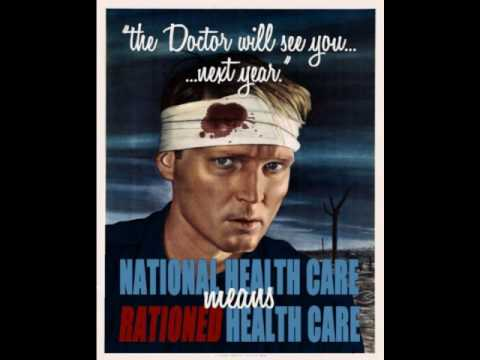 Ronald Reagan warns about Socialized Health Care V2