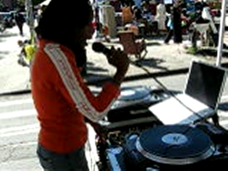 DJ LADY GRACE (Who U Represent?) @ Block Party 9/19/09 in NY