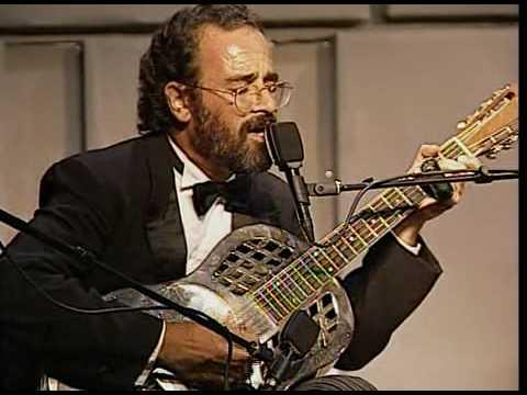 "Bob Brozman plays ""Highway 49 Blues"""