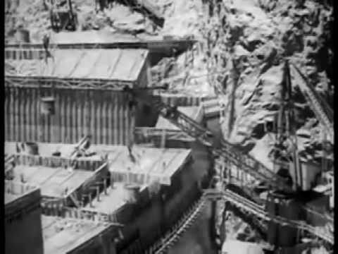 Georgy Sviridov- Time, forward! / Boulder Dam construction in 1931-1936
