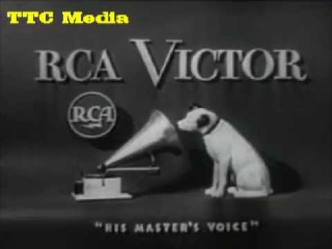 Old RCA Victor Portable Radio Commercial