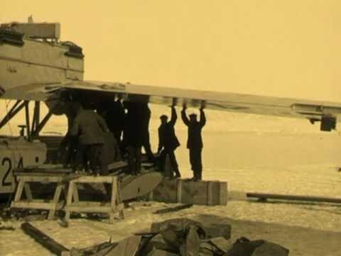 Roald Amundsen & Lincoln Ellsworth Polar Flight, 1925