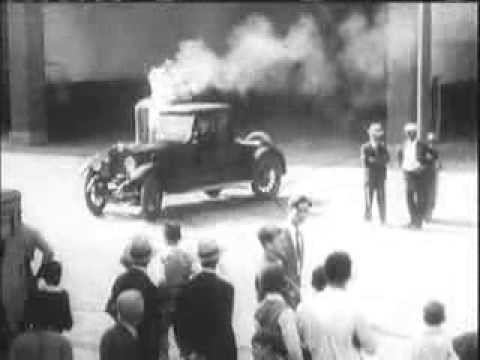 Automobile history from the late 1800s to the 1940s