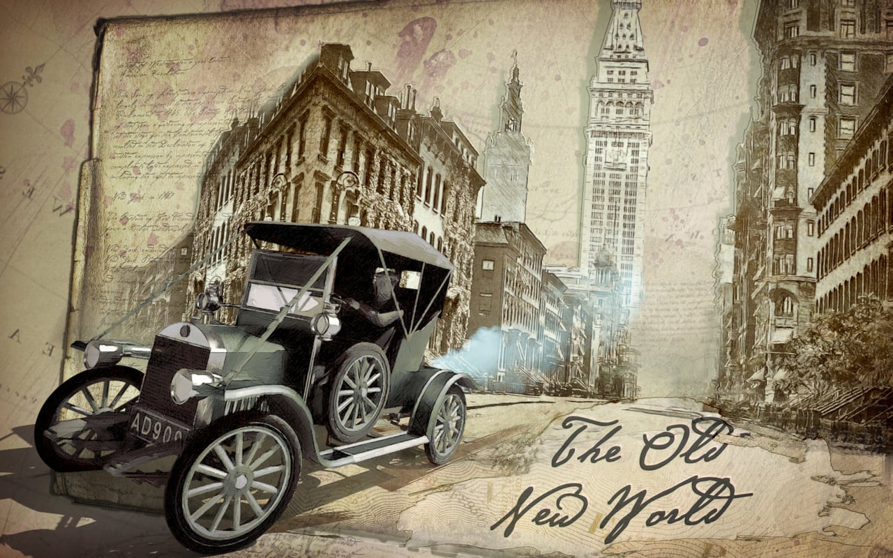 """""""The Old New World"""" Photo-based animation project"""