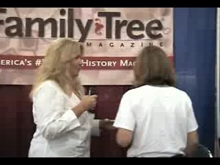 Exploring a Genealogy Conference Exhibit Hall