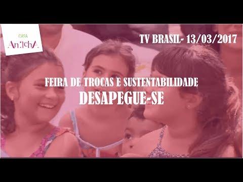 Feira Desapegue-se na TV Brasil (março 2017)