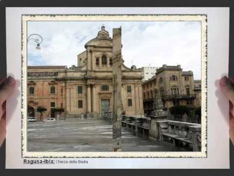 Cartoline dal barocco nel Val di Noto Sicilia Italia