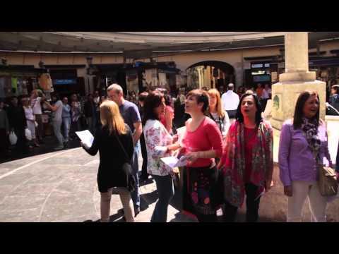 Flashmob Nabucco - Plaza Redonda (Valencia)