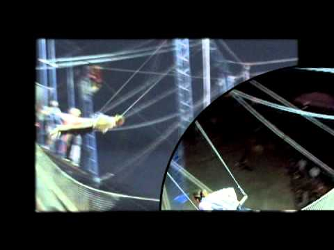 Trapeze show in Macon, France