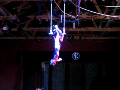 Double Trapeze Cam and Christine to Akon at Club Med Turks and Caicos