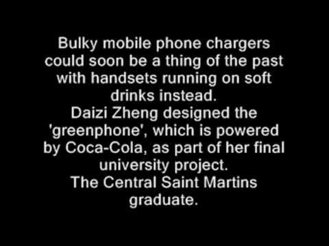 Fizzy Phone: Mobile Runs On Coca-Cola