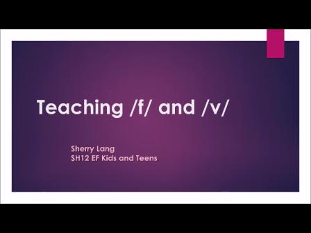 SH12 Sherry Lang Teaching f & v