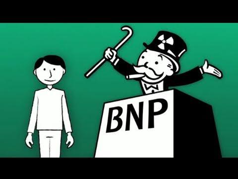 BNP Paribas bank under Greenpeace attack viral video