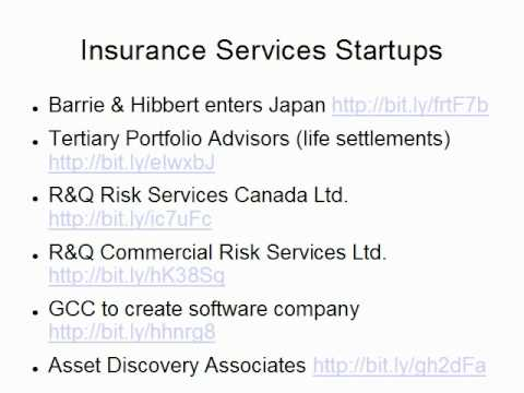 Reinsurance, Insurance Startups Trends, as presented by Claude Penland, Actuary