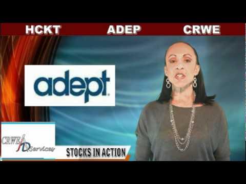 (ADEP, CRWE, HCKT) CRWENewswire.com Stocks In Action