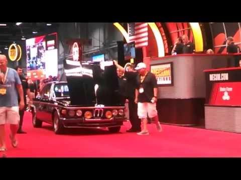 Mecum Harrisburg Auction BMW CS 3.0 crosses the block