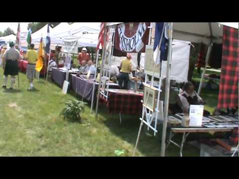 Clan Cameron Tent - ISAS Scottish Festival 2011