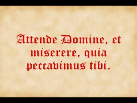 Attende Domine
