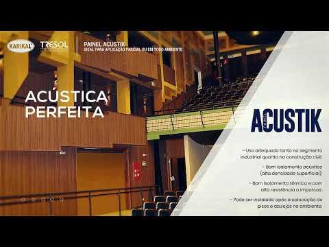 ACUSTIK TRESOL : Painéis Modernos Acústica Perfeita