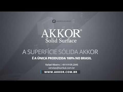 Akkor - Solid Surface | Superfície Sólida Mineral