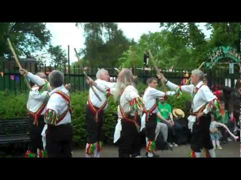 Bowes Park Community Picnic: Chingford Morris Men