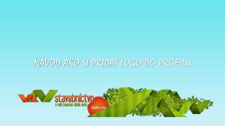 pridanie LOGA do profilovej stránky na stavebnictvo.sk