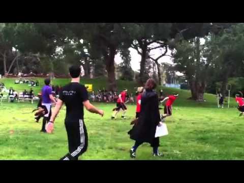 Quidditch in Rancho Park