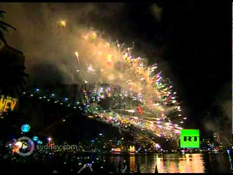 Happy New Year Australia: Video of Sidney's spectacular New Year fireworks