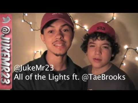 Kanye West ft. Rihanna - All of the Lights - Official Remix Music Video by Juke ft. Tae Brooks