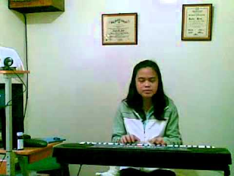Jo Anne singing LOVE THE WAY YOU LIE by EMINEM feat. RIHANNA w/ the piano