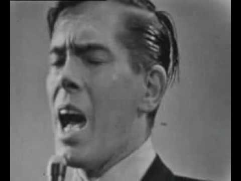 Johnnie Ray - The Little White Cloud That Cried - Live