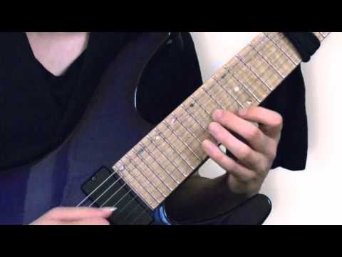 JS Bach: Invention 1 on Electric Guitar