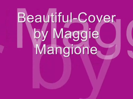 Beautiful-Cover By Maggie Mangione