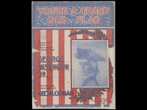 "James Cagney : You're a Grand Old Flag (from ""Yankee Doodle Dandy,"" 1942) - Complete Lyrics"