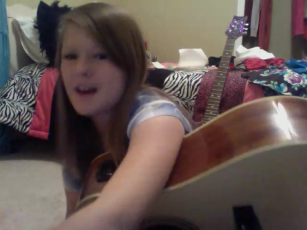 Taylor Swift teardrops on my guitar-cover by Carli Lay