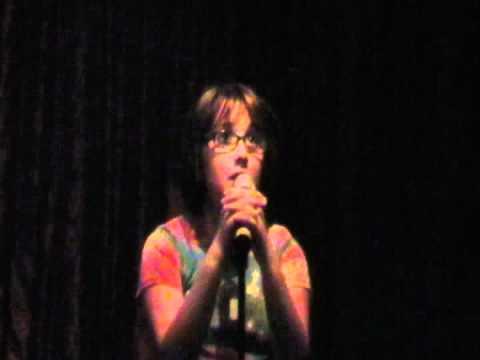 zoe alexa singing someone like you by adele at hamburger mary s